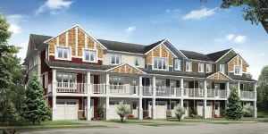 Life Townhomes in Harbour Landing