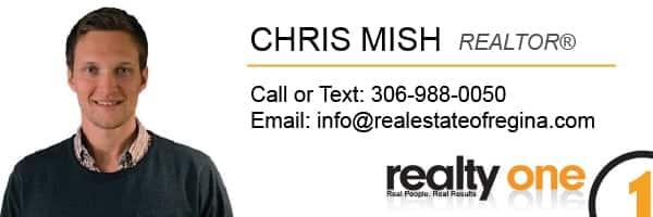 Chris Mish Regina Realtor